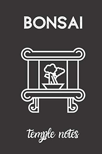 bonsai temple notes: small lined Bonsai Notebook / Travel Journal to write in (6