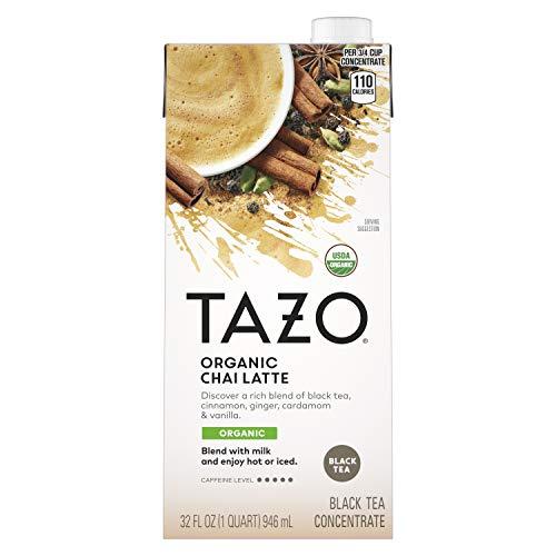 Tazo Tea Organic Chai Concentrate, 32 oz (946 mL)