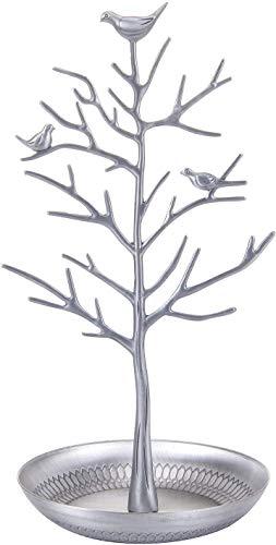 Schmuck-Organizer, Display für Ohrringe, Halsketten, Schmuck, in Form eines Baumes