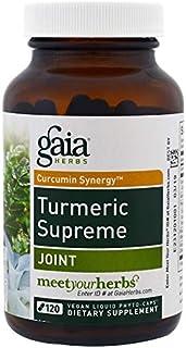 Gaia Herbs, Turmeric Supreme, Joint, 120 Vegan Liquid Phyto-Caps