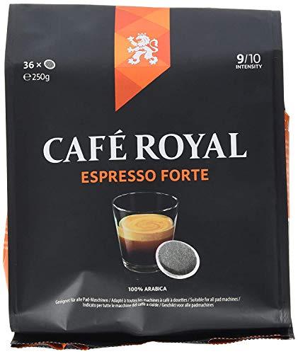Café Royal Espresso Forte 180 kompatible Kaffeepads für Senseo, Intesität 9/10, 5er Pack (5 x 36 Kaffee-Pads)