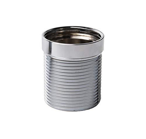RALLONGE FILETÉE 50 mm de longueur pour siphons ou garnitures d'écoulement standard 1 1/4\