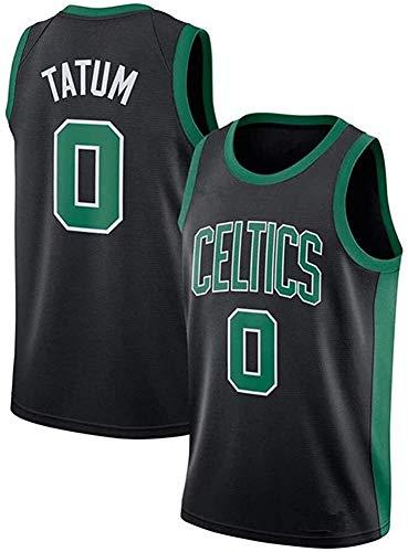 WSWZ Camiseta De Baloncesto De La NBA para Hombre - Boston Celtics 0# Jayson Tatum Camisetas De La NBA - Unisex Cómodo Camiseta Sin Mangas Deportiva De Baloncesto,M(170~175CM/65~75KG)