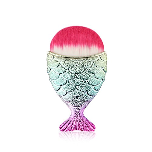 1pcs Fisch Make-up Pinsel, EUZeo Make Up Eyeliner Blush Kosmetik Pinsel Gesichtspinsel...
