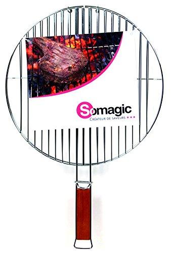 Somagic SO450214 Grille Double Diamètre 37 cm