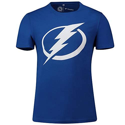 NHL T-Shirt Tampa Bay Lightning Primary Graphic Logo Eishockey (M)