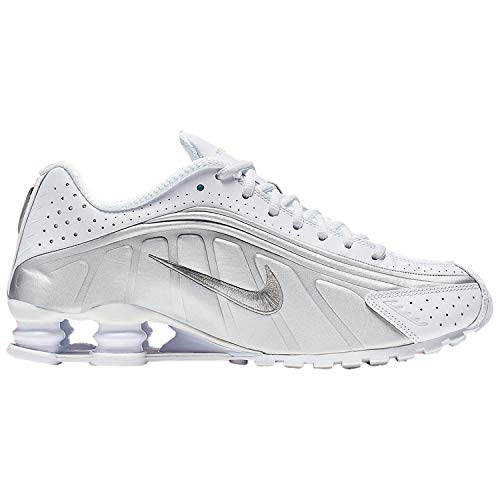 Nike Shox R4 (White/Metallic Silver 10)