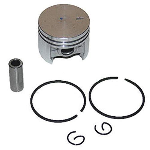 HOWWO KF-Ring Kit de Anillo de pistón de Cilindro Chapado en 38 mm Nikasil Fit Stihl 018 MS180 MS 180 Motosierra Gasolina Motor Motor Motor Motosierras