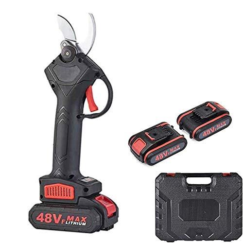電気剪定ばさみ 園芸用はさみ 電動ハサミ 充電式 30mmの切断直径 5~7H作業時間 園芸用剪定用具