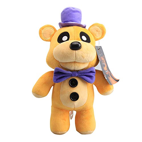 YLEAFUN Five Nights at Freddy's Dolls Figure Toys, Gifts for Five Nights at Freddy's Fans 12 Inch Soft Toy - Stuffed Toys Dolls - Kids Gifts Freddy Fazbear Plush Toys
