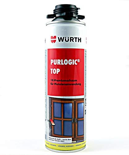 Würth Purlogic Top Pistolenschaum Hellelfenbein Bauschaum Montageschaum 08921421