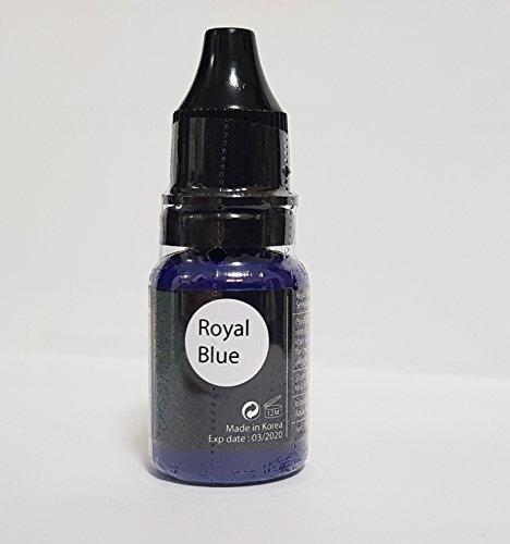 Permanent Make Up Micro Pigment Bleu roi Eyeliner/Eyebrow Couleur 10 ml