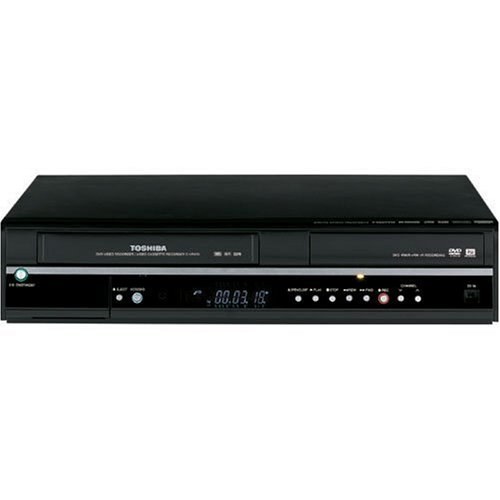 Best Buy! Toshiba D-VR600 Tunerless 1080i Up-Converting DivX Certified DVD Recorder VCR Combo