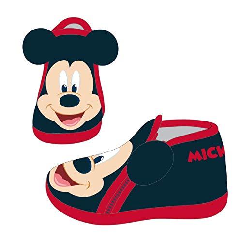 Artesania Cerda Zapatillas De Casa Media Bota Mickey, Niños, Negro (C02), 27 EU