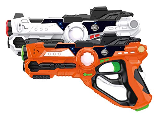 Laser Gun Set for Kids and Adults TG666 – Infrared Laser Tag Game for Boys & Girls (2...