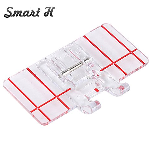 For Sale! Smart H Border Guide Sewing Machine Presser Foot – Fits All Low Shank Snap-On Singer, Brother, Babylock, Euro-Pro, Simplicity, White, Janome, Kenmore, Juki, New Home