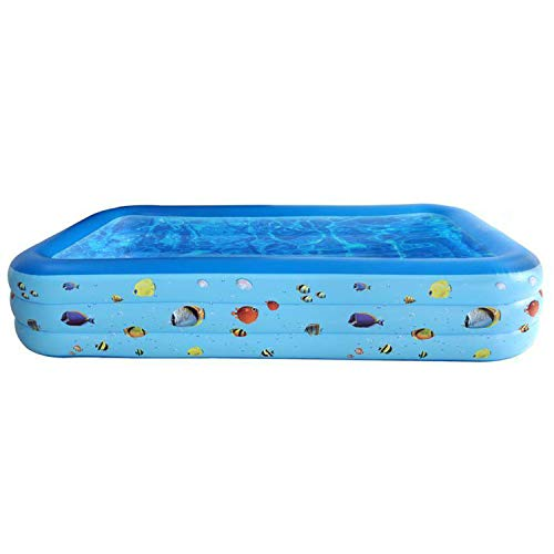 Bestrip Swimming Pool, Inflatable Pool, 118' X 67' X 22' Above Ground Rectangular Inflatable...