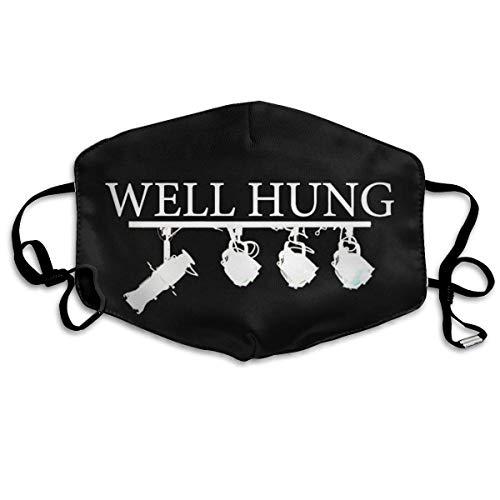 Halloween-modemasker, goed opgehangen, verstelbaar oorschelp-gezichtsmasker, stofmasker, anti-pollenmasker