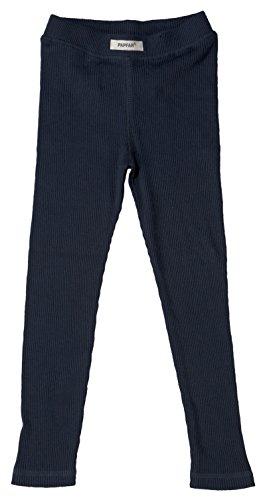 Papfar Unisex Baby 2x2 Rib Leggings, Blau (Blue Nights 287), 80 (Herstellergröße: 12M)
