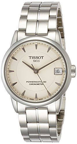 Tissot Damen Analog Automatik Uhr mit Edelstahl Armband T086.208.11.261.00
