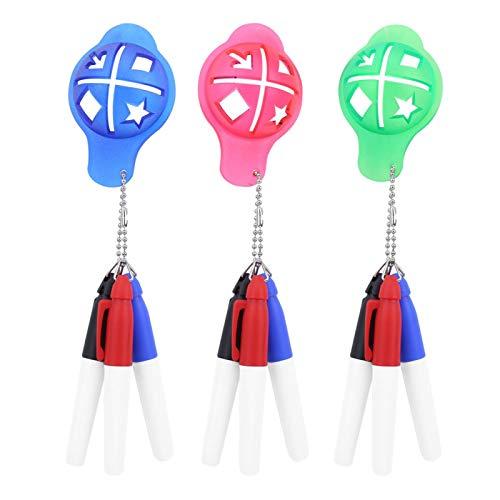 DAUERHAFT Einfache Verwendung mit Einer Zange Scriber, Golfzubehör, für Turniere