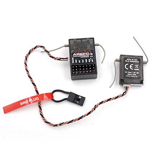Willowhe Neue AR6210 DSMX 6-Kanal Empfänger Unterstützung DSM2 für Spektrum Sender TX RC