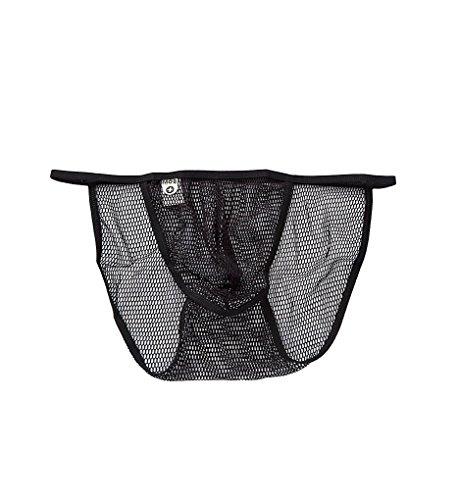 MaleBasics Men's Fishnet Bikini Black Large/X-Large