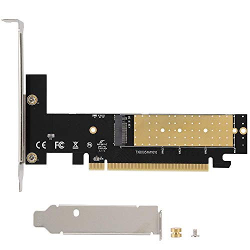 into PC. PCI-E ASHATA M.2 PCIE Adapter M.2 NGFF to PCI-E X4 Transmission Card,M.2 SSD to PCIE 4X Computer Expansion Riser Card Adapter for Windows//Linux//Mac OS,Easy to Put M-Key m.2 NGFF NVMe SSD