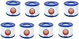 KTMAID Filtro de repuesto para cartucho de filtro Bestway VI para piscina, cartucho de filtro de repuesto para piscinas inflables Lay-Z-Spa Miami, Vegas, Monaco, Palm Springs, etc. (8 unidades)