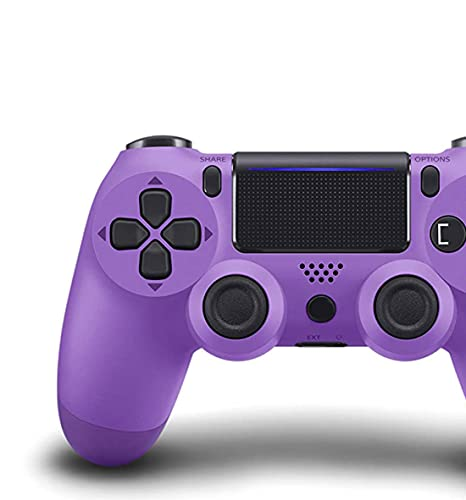 Oriflame - Game Controller for PS4 (Electric Purple) , Dual Vibration Compatible with Windows PC & Android OS , Wireless Bluetooth Controller