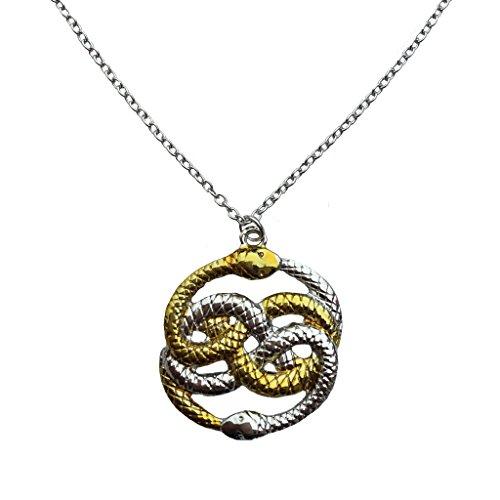 Die Unendliche Geschichte Auryn Schlangen-Halskette