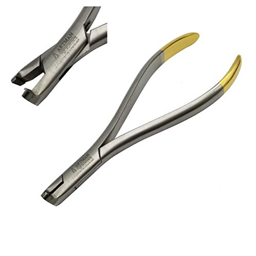 Distal end Cutter Large Handle TC Inserts Gold Plated with Safety Hold by Wise Linkers USA