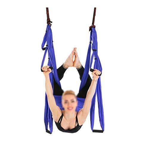 FABAX Complete set met 6 handgrepen voor yoga, vliegtuig, deken, hammock, stuur, swing, trapezium, yoga, inversie-home device hangriem