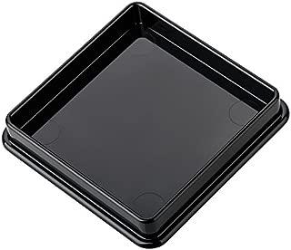 Felt Furniture Pads, haggiy Caster Cup Felt Glides, Furniture Feet Protectors, 2.36 x 2.36 Inch (4 Pack) - Peha Best Gliders (Black)
