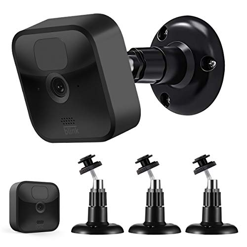 Blink Outdoor Camera Mount, Sonomo 360 Degree Adjustable Wall Mount Bracket for Blink Outdoor Camera and Blink Indoor Security Camera System Accessories (Black)