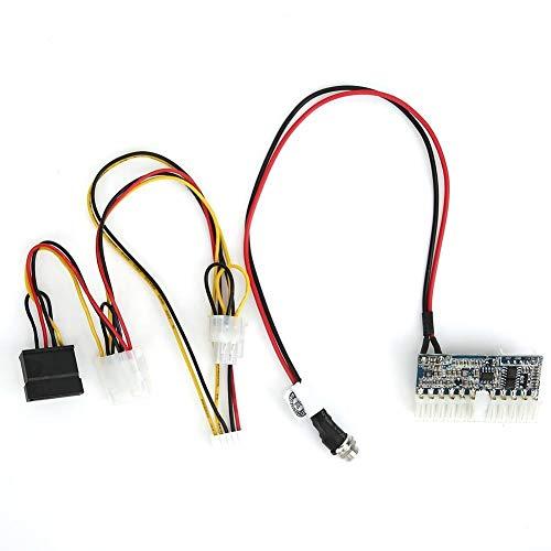 Rockyin Power Module Mini 24 Pins/DC-ATX 180W mit Verbindungskabel 11.4-13V