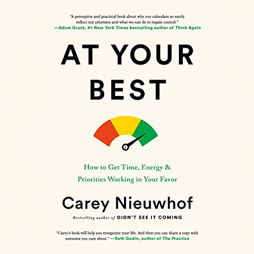 At Your Best Audiobook By Carey Nieuwhof cover art