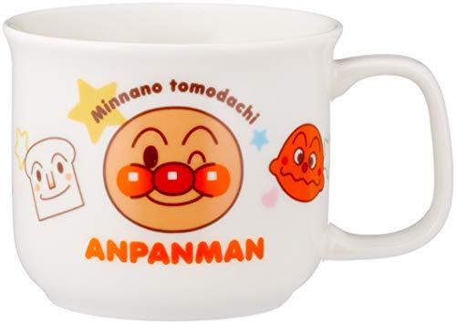 「 それいけ!アンパンマン 」 マグカップ 180ml 子供用 食器 白 074304