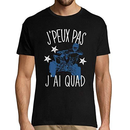 Quad | Désolé Je Peux Pas | T-Shirt Homme Collection Sport Humour pour Tous Les Sportifs Passionnés XXL