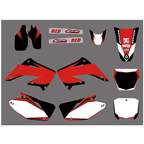 Etiqueta de protección Motocicleta de la Etiqueta engomada gráfica for Honda CR125 CR250 CR125R CR250R CR 125 R 250 2002 2003 2004 2005 06 07 08 09 10 2011 2012