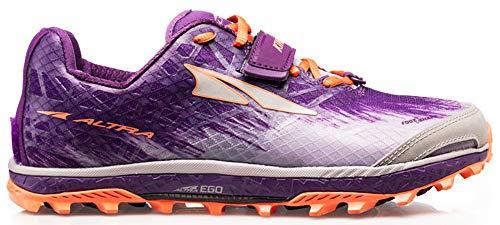 ALTRA Women's AFW1852G King MT 1.5 Trail Running Shoe, Plum/Orange - 7 M US
