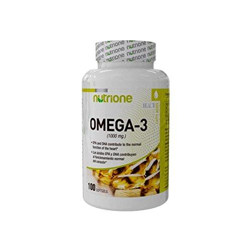 Nutrione Integratore Alimentare a Base di Omega 3-100 softgels
