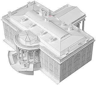 PaperLandmarks White House Paper Model Kit