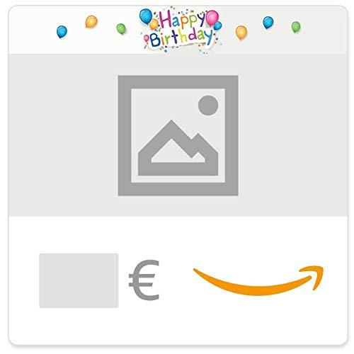 Buono Regalo Amazon.it - Digitale - Personalizzato - Compleanno di tutti i colori