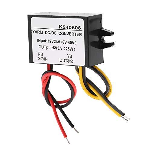 Buck Converter 5A Converter Fuente de alimentación 25W DC-DC Converter Step Down Converter para coche para pantalla LED