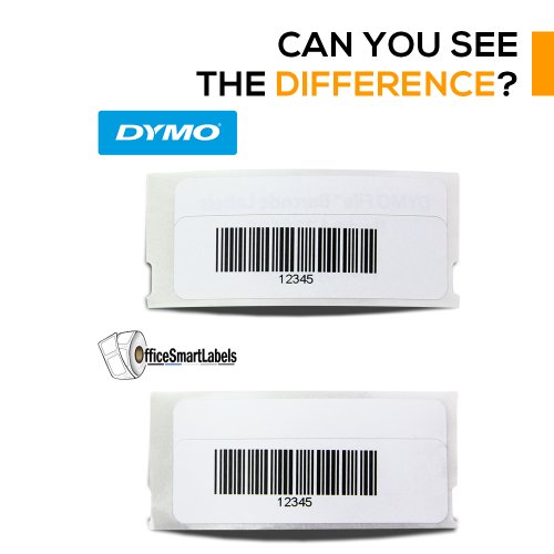 "OfficeSmartLabels - 3/4"" x 2-1/2"" Barcode Labels, Compatible with Dymo 1738595 (1 Roll - 450 Labels Per Roll) Photo #2"