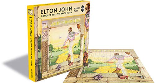 Elton John Goodbye Yellow Brick Road (1000 Piece Jigsaw Puzzle)