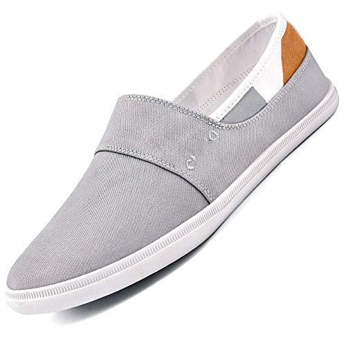 YUMUO Sommer Herren Segeltuch Schuhe Lässige koreanische Version des Trends der Schuhe Sommer atmungsaktive Schuhe