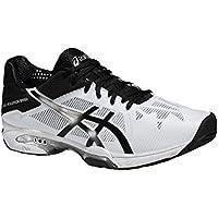 Asics Gel-Solution Speed 3, Zapatillas de Tenis para Hombre, Gris (Aluminum/Electric Blue/White), 43.5 EU