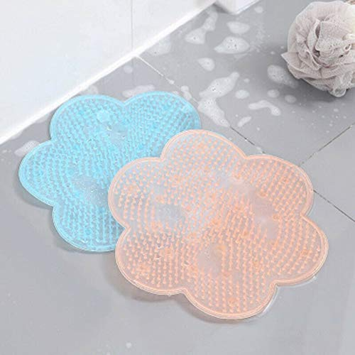 Dusche Massager Mat Fuß Scrubber Reiniger Bad Pinsel Peeling Füße Waschmaschine,Ideal Für Dusche Oder Badewanne(2Pack)
